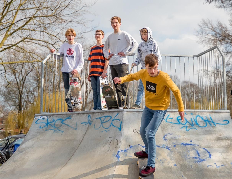 jongeren skaten