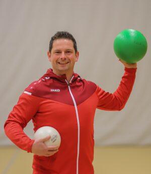 Buurtsportcoach Mark Homme