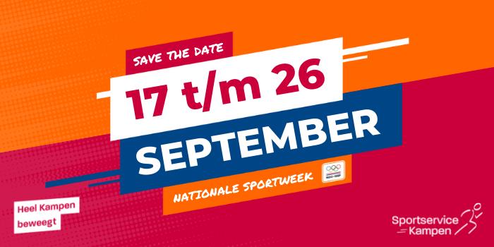 Banner nationale sportweek